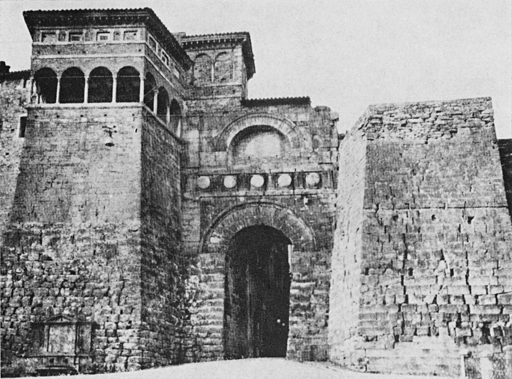 Gate of Augustus in Perugia. 3rd—1st centuries BCE.