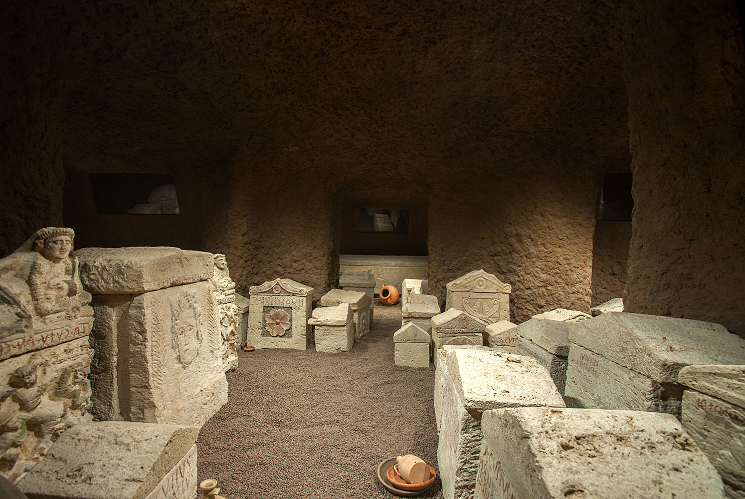Tomb of the Cai Cutu family. 3rd—1st centuries BCE. Perugia, National Archaeological Museum of Umbria