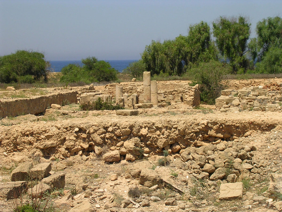 The house of Dionysos. Late 2nd century CE. Cyprus. Paphos, Archaeological Park