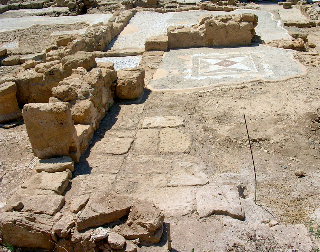 The House of Aion. Middle of the 4th century CE. Cyprus. Paphos, Archaeological Park