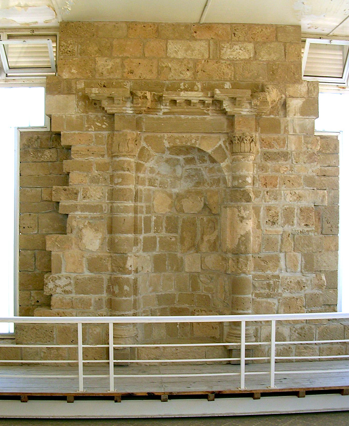 The House of Aion. Niche for a statue. Middle of the 4th century CE. Cyprus. Paphos, Archaeological Park
