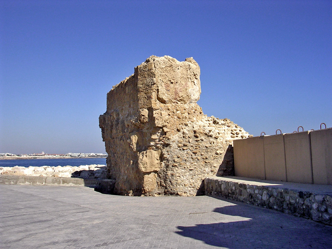 Remains of ancient port. Late 4th century BCE. Cyprus. Paphos, Archaeological Park