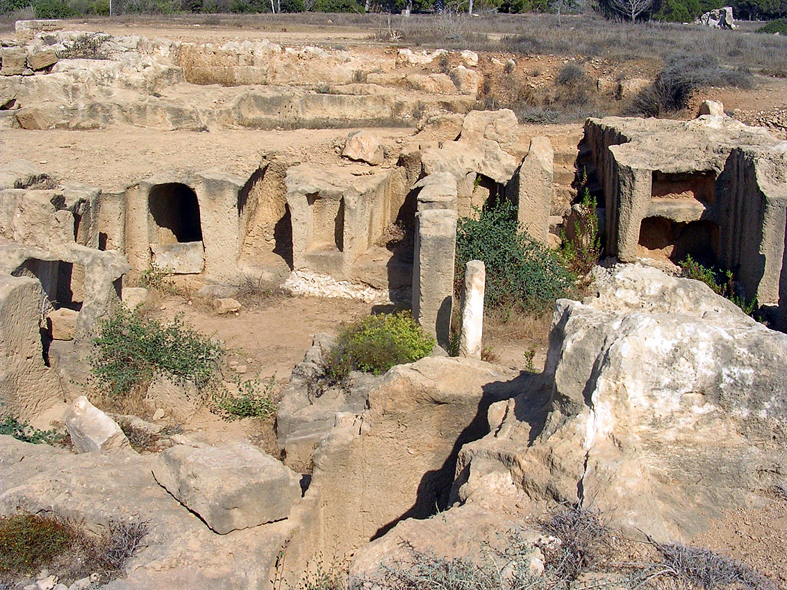 Tomb VI. Perystile. Hellenistic period (3rd—1st centuries BCE). Cyprus. Paphos, Tombs of the Kings