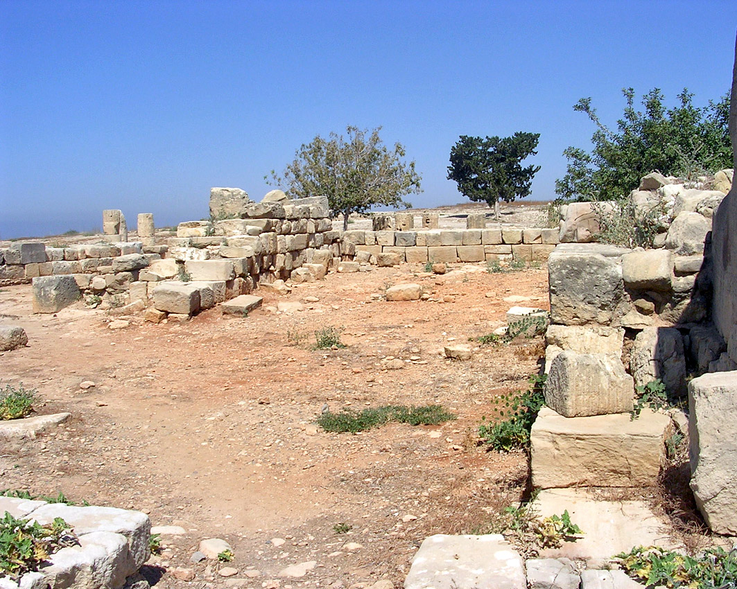 The chambers of the east wing. Ca. 100 CE. Cyprus. Kouklia (Paliapaphos), Temple of Aphrodite