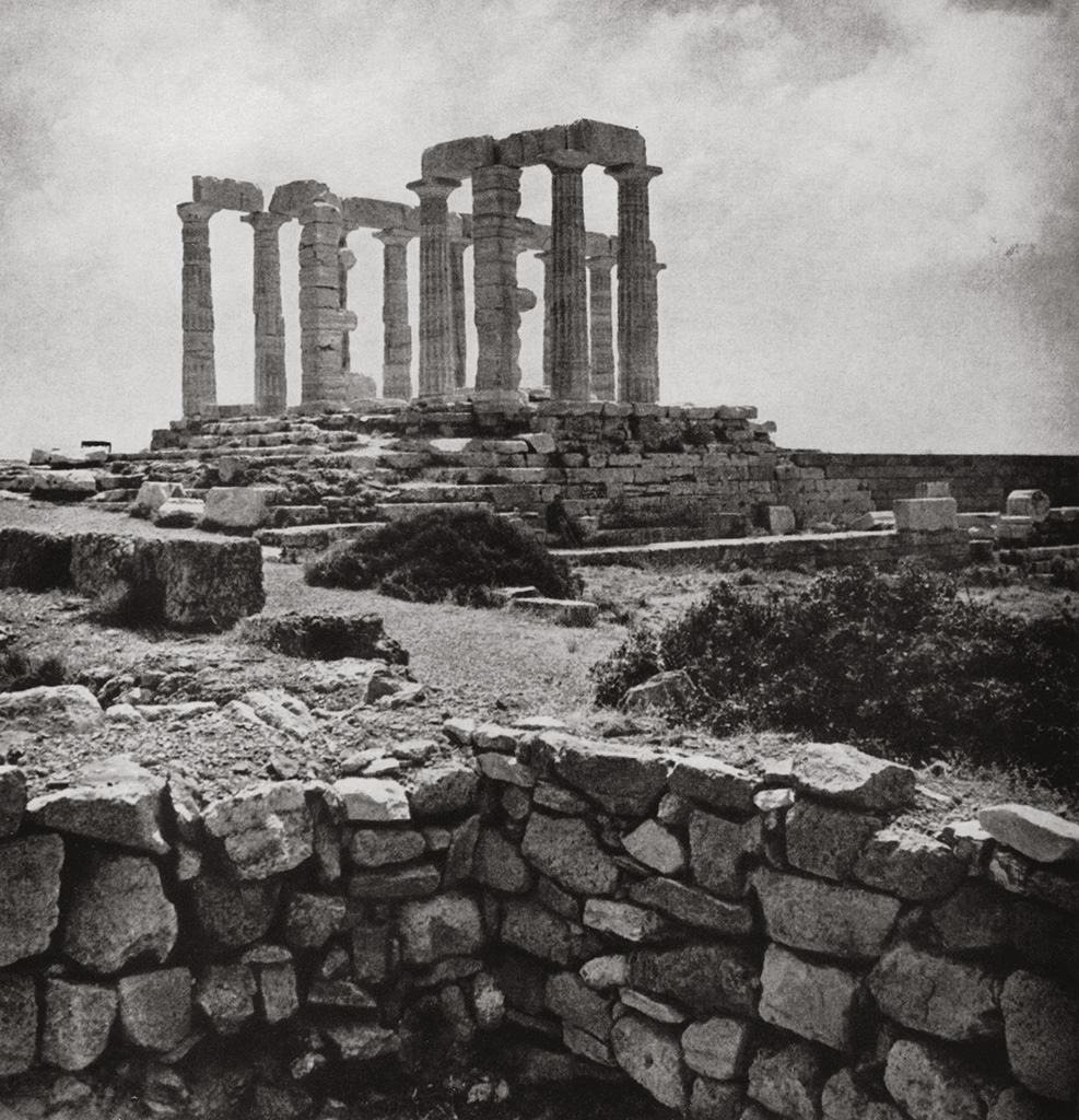 Temple of Poseidon at Cape Sounion. Second half of the 5th century BCE. Sounion
