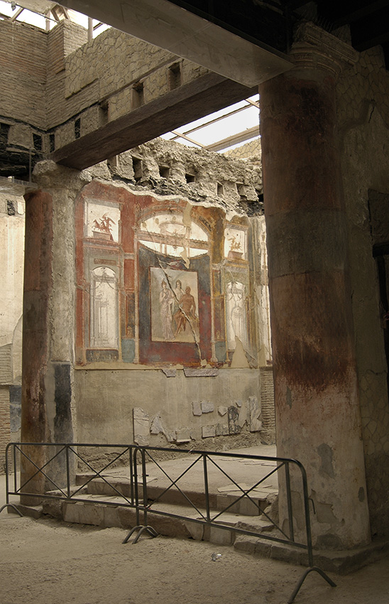Hall of the Augustals. Interior. 1st century CE. Herculaneum, Hall of the Augustals (VI, 24)