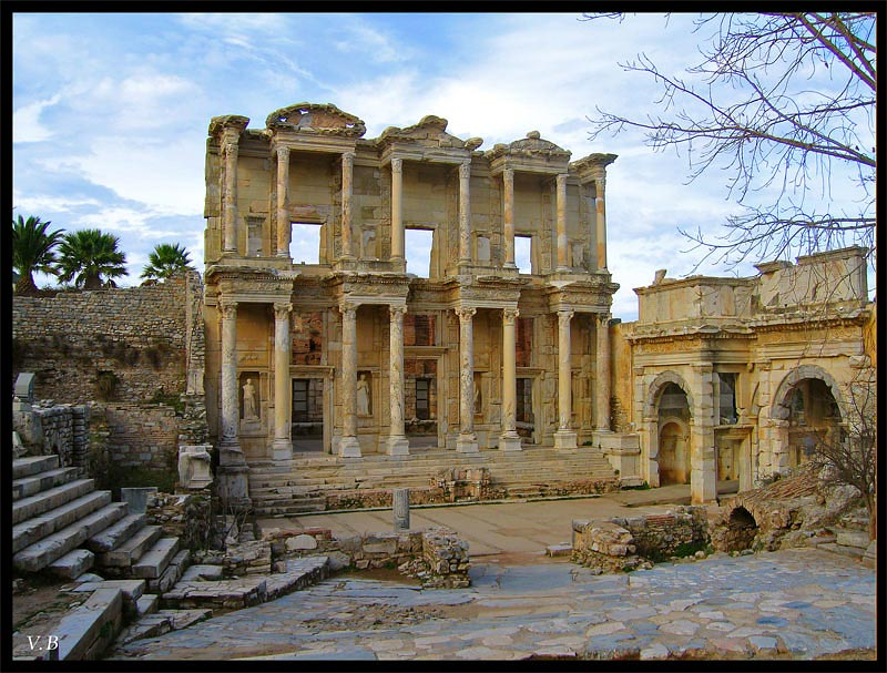 Celsius Library and the Gate of August. 117—135 CE. Ephesus