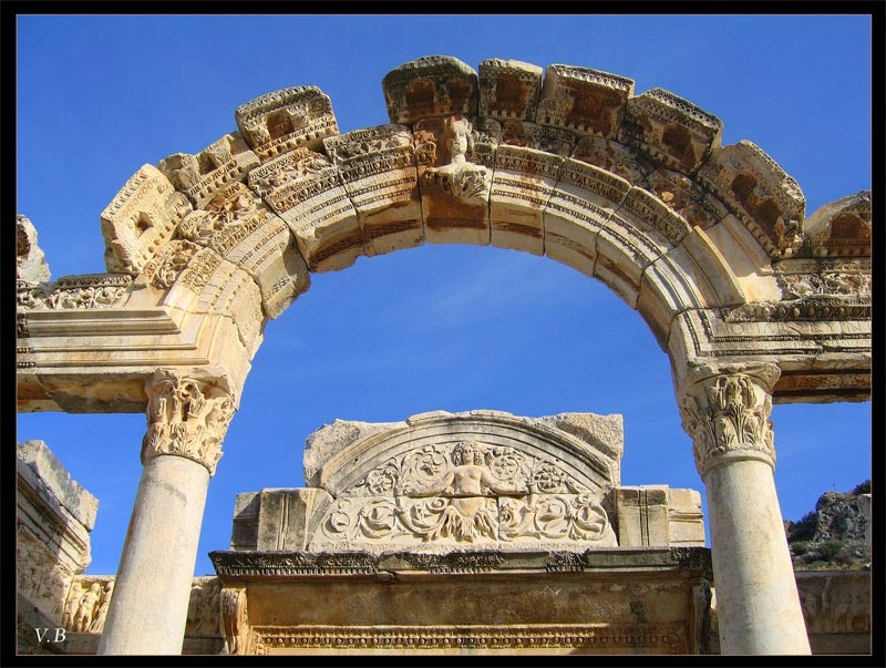 The Temple of Hadrian. 117—138 CE. Ephesus