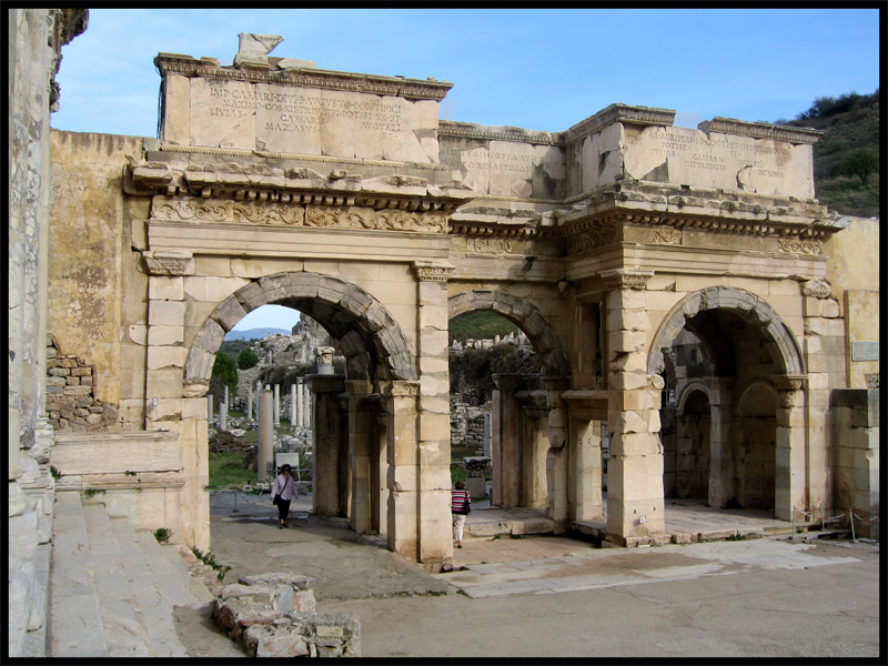 The Gate of August (The Gate of Mazaeus and Mithridates). 4—3 BCE. Ephesus