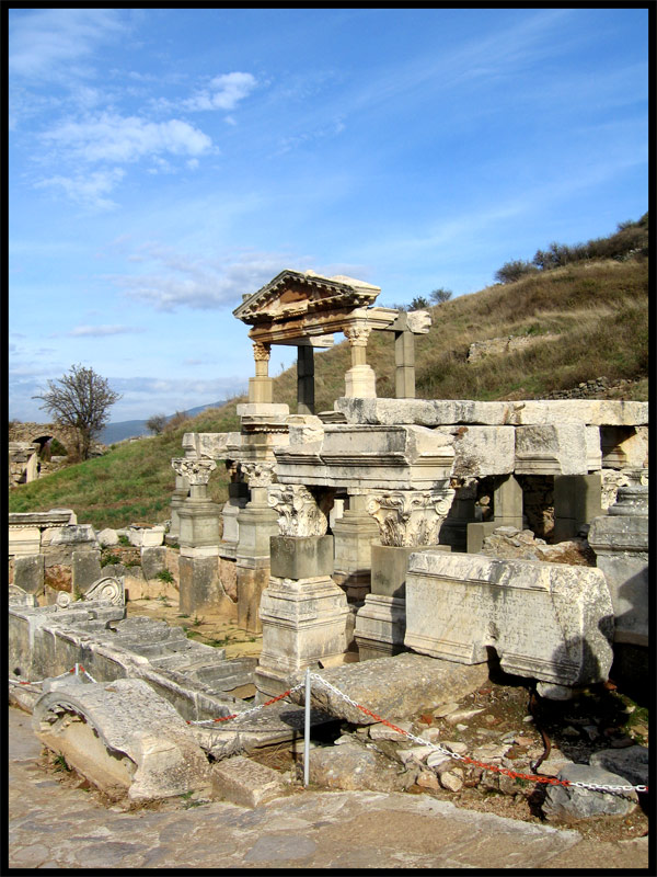The Fountain of Trajan. 102—114 CE. Ephesus