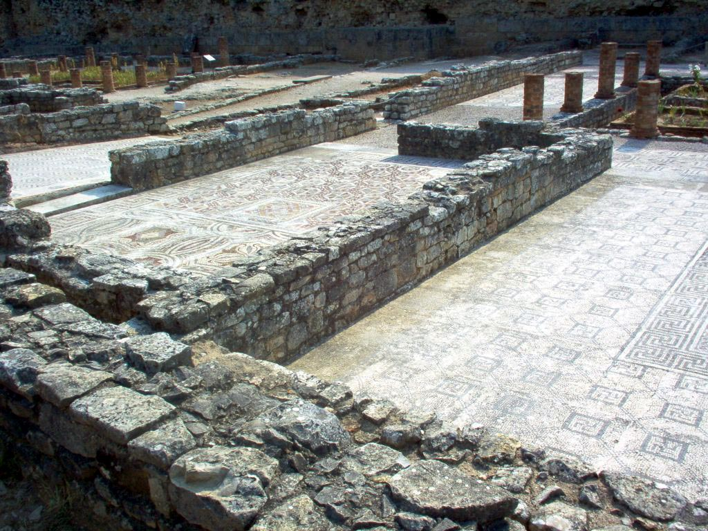 Swastika House. Conimbriga (modern Conimbriga, Portugal). 1st—4th centuries.