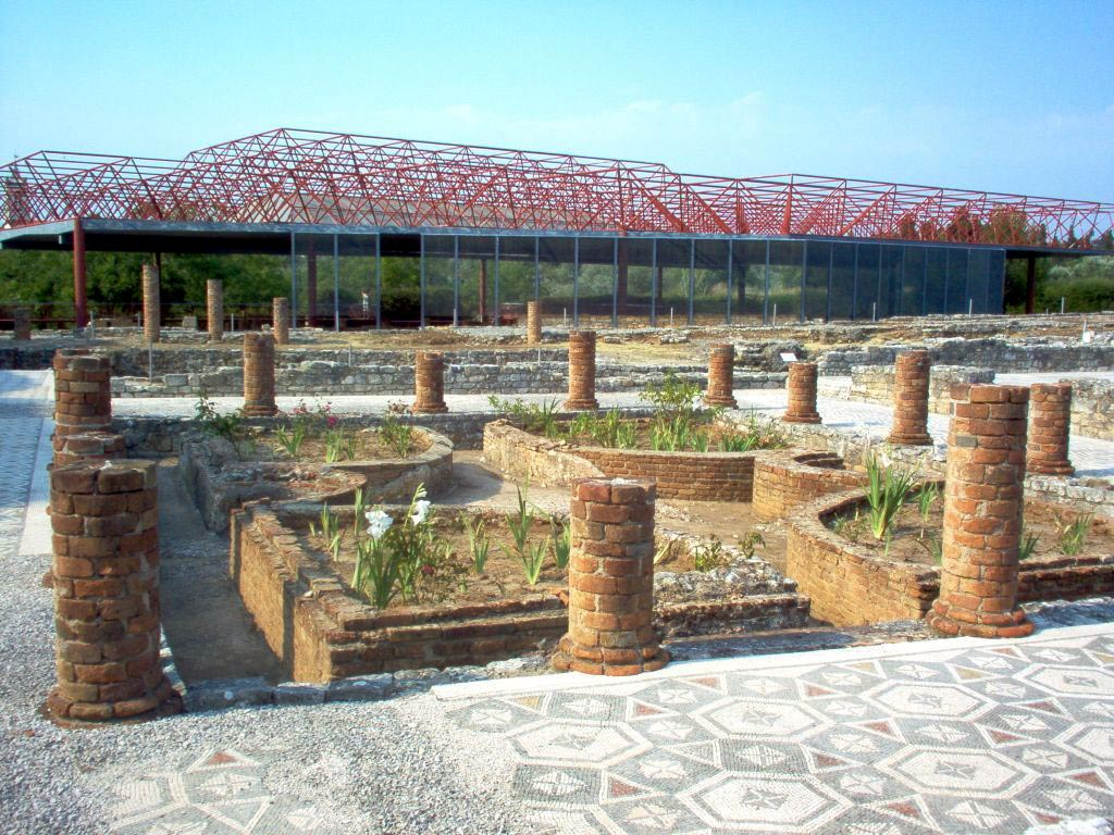 Swastika House. Peristyle. Conimbriga (modern Conimbriga, Portugal). 1st—4th centuries.