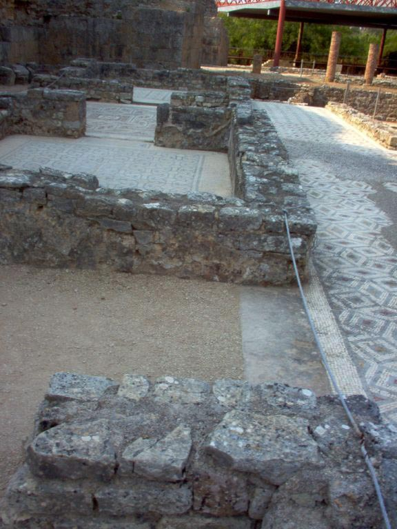 Swastika House. Stair-well, study (?). (modern Conimbriga, Portugal). 1st—4th centuries.