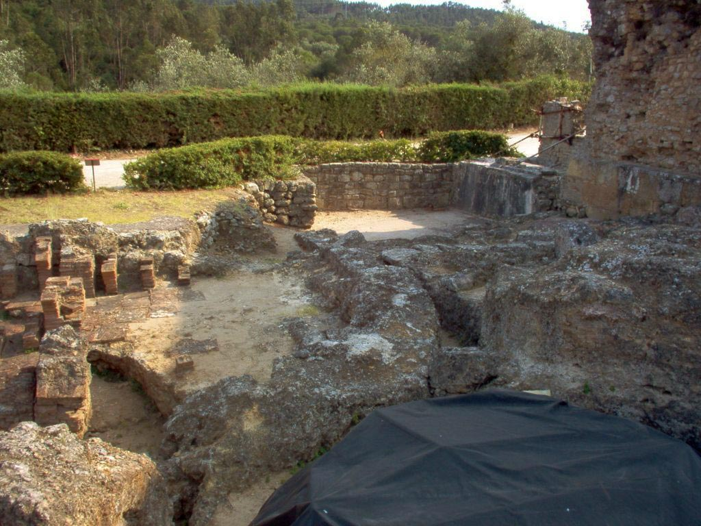 Thermae near the defense wall. Conimbriga (Portugal). 1st—4th centuries.