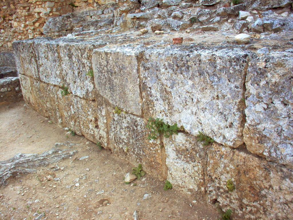 Defense wall. Conimbriga (Portugal). 1st century.
