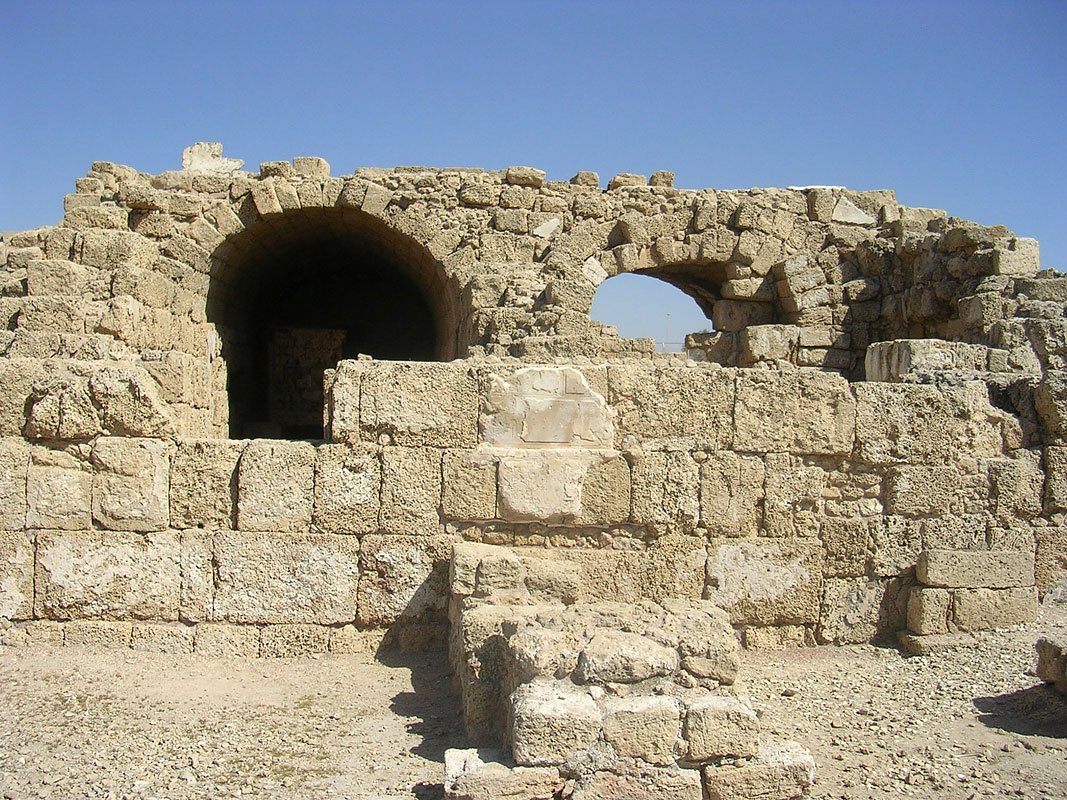 The storehouses. Administrative and economic district. 22—10 BCE. Caesarea
