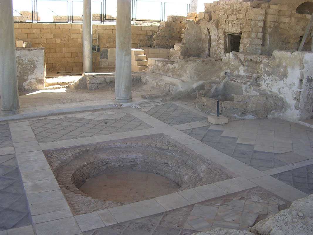 Baths. The beginning of the 4th century CE. Caesarea
