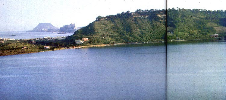 Lake Avernus near Cumae.