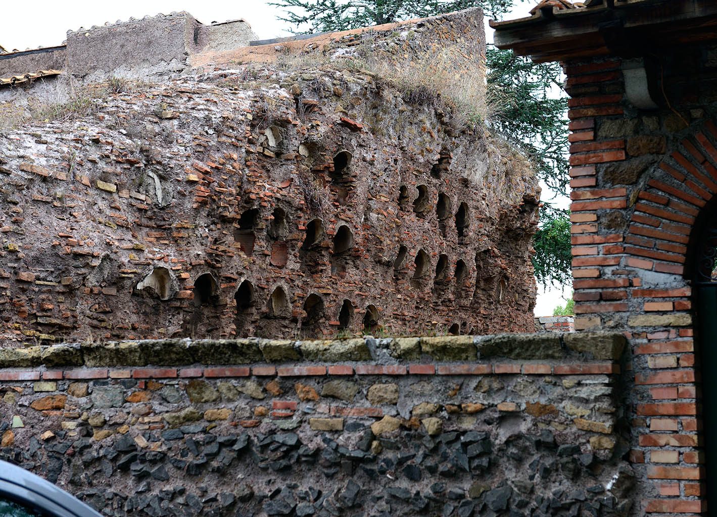 Columbarium of the freedmen of Augustus on the via Appia.  Rome, Via Appia