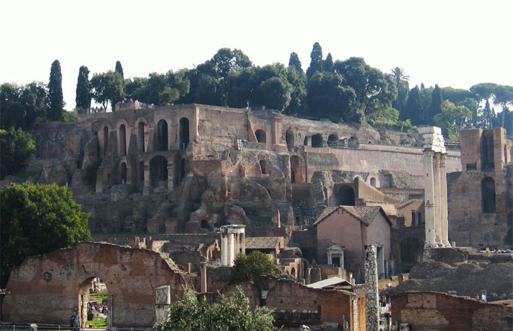 House of Tiberius.  Rome, Palatine