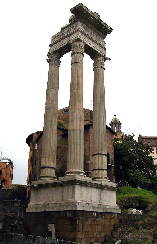 Temple of Apollo in the Campus Martius. (Temple of Apollo Medicus; temple of Apollo Sosianus). 5th century BCE. Rome, Campus Martius