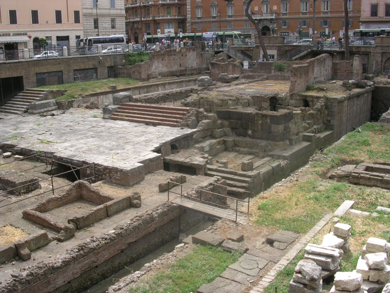 Temple of Feronia. 310—290 BCE. Rome, Campus Martius, Area Sacra