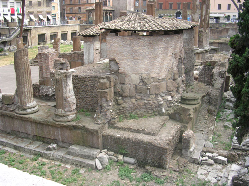 Temple of Juturna (?) 240—230 BCE. Rome, Campus Martius, Area Sacra