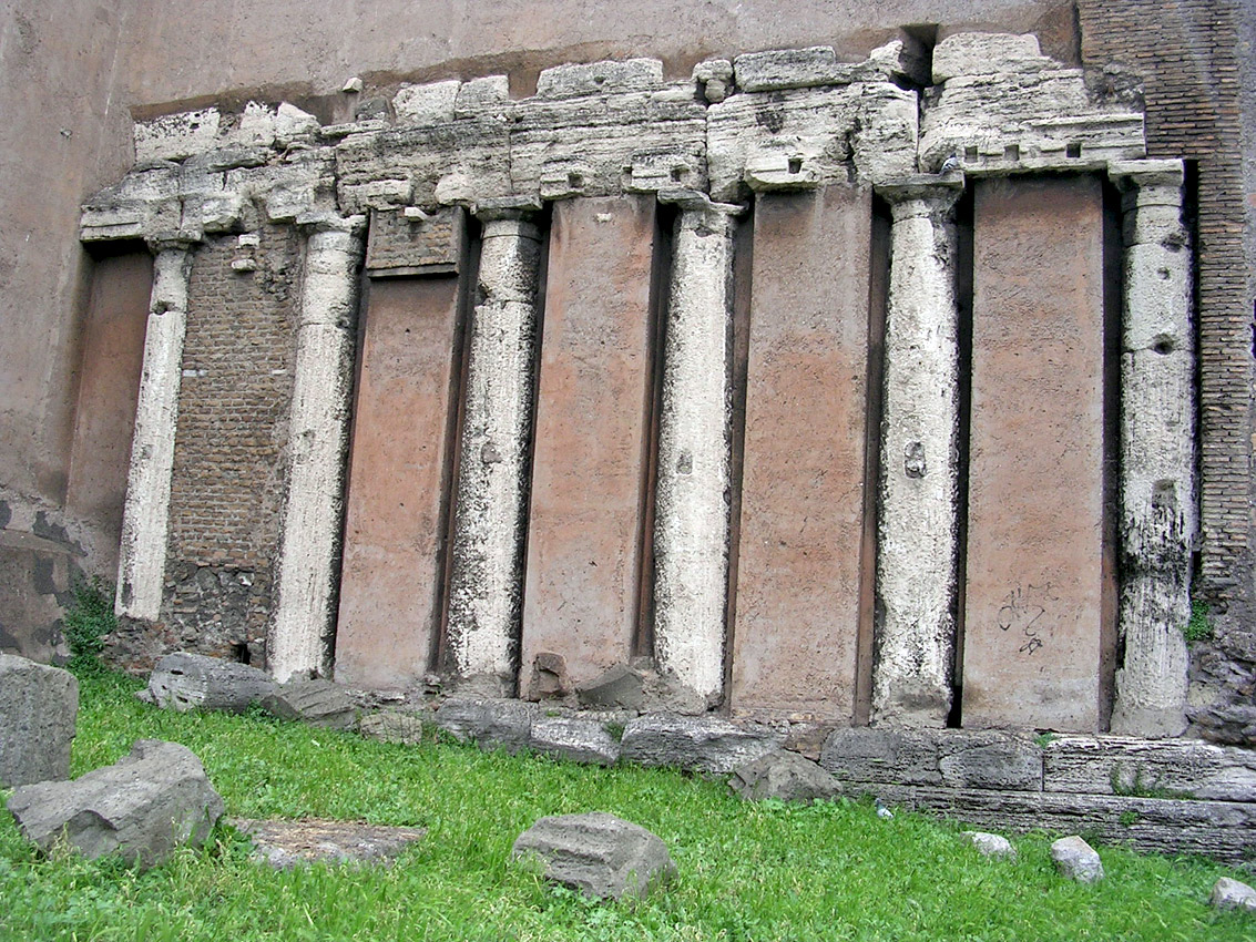 Temple of Spes. 258 BCE. Rome, Forum Holitorium
