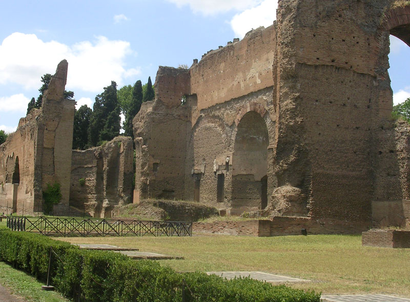 Baths of Caracalla.  Rome, Baths of Caracalla