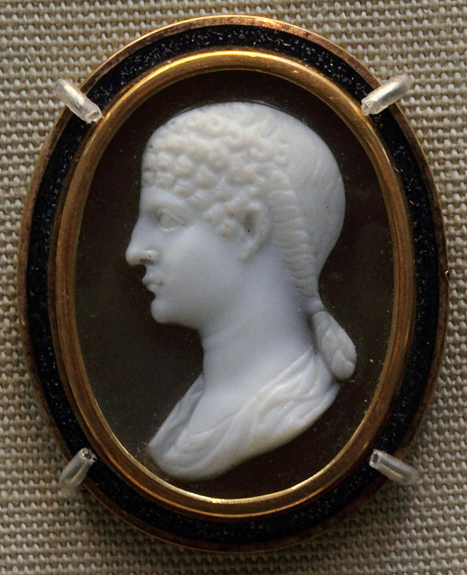 Agrippina the Younger. Sardonyx. Ca. 57—59 CE. Inv. No. GR 1872.6-4.1992 (Gem 3951). London, The British Museum
