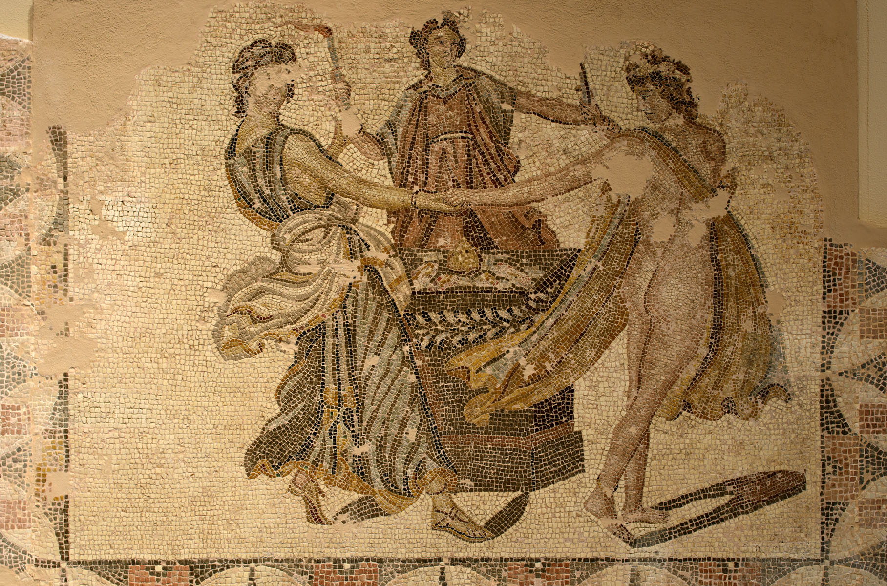 Mosaic Dance by Three Graces paintings
