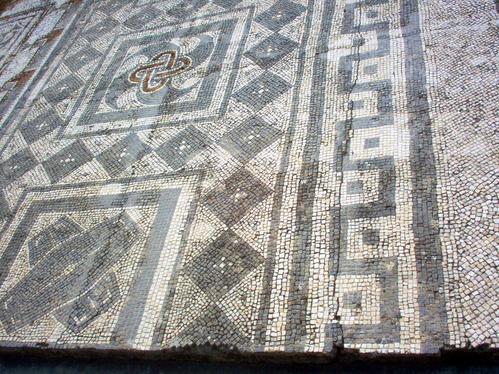 Mosaic floor. 4th century. Conimbriga, Lusitania (modern Conimbriga, Portugal).