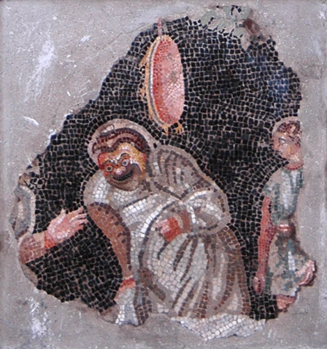 Comedy scene. Inv. No. 6146. Naples, National Archaeological Museum