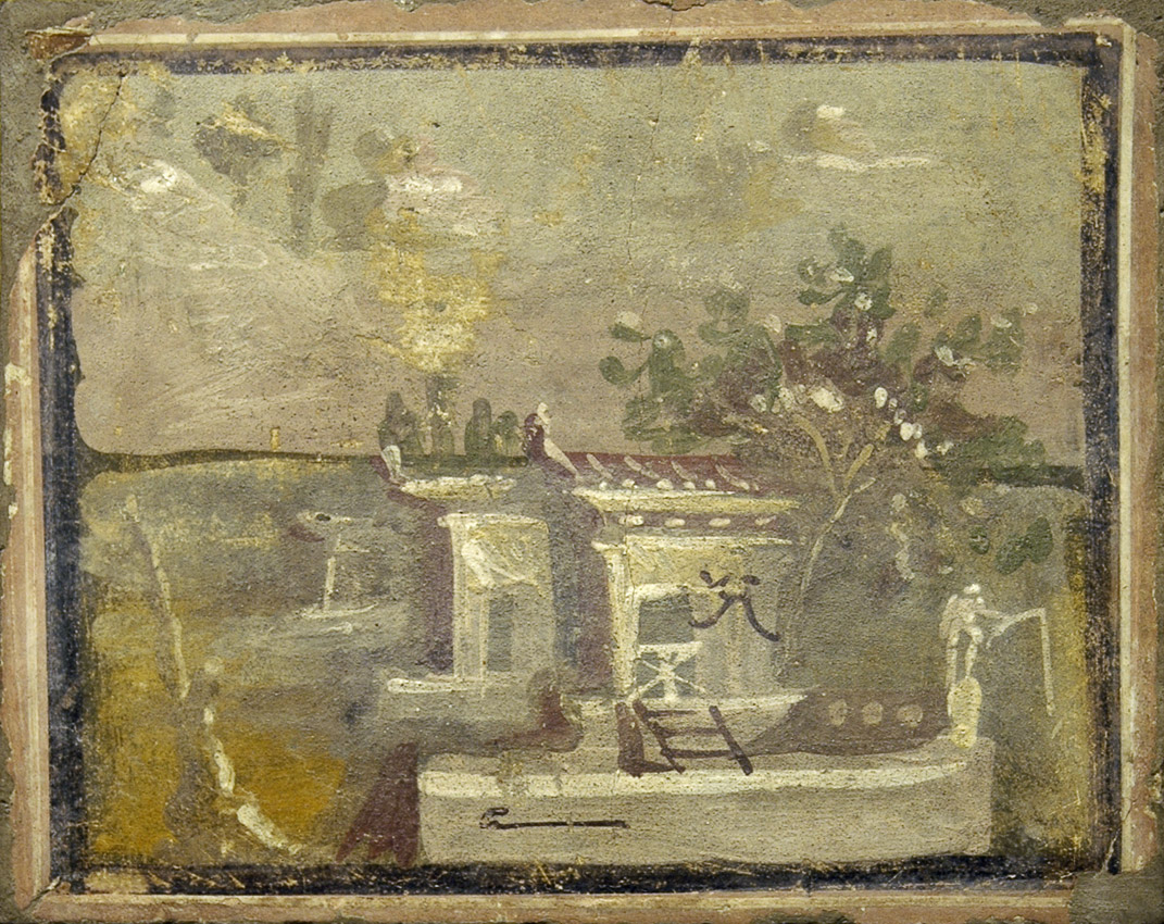 Landscape. Inv. No. 9458. Naples, National Archaeological Museum