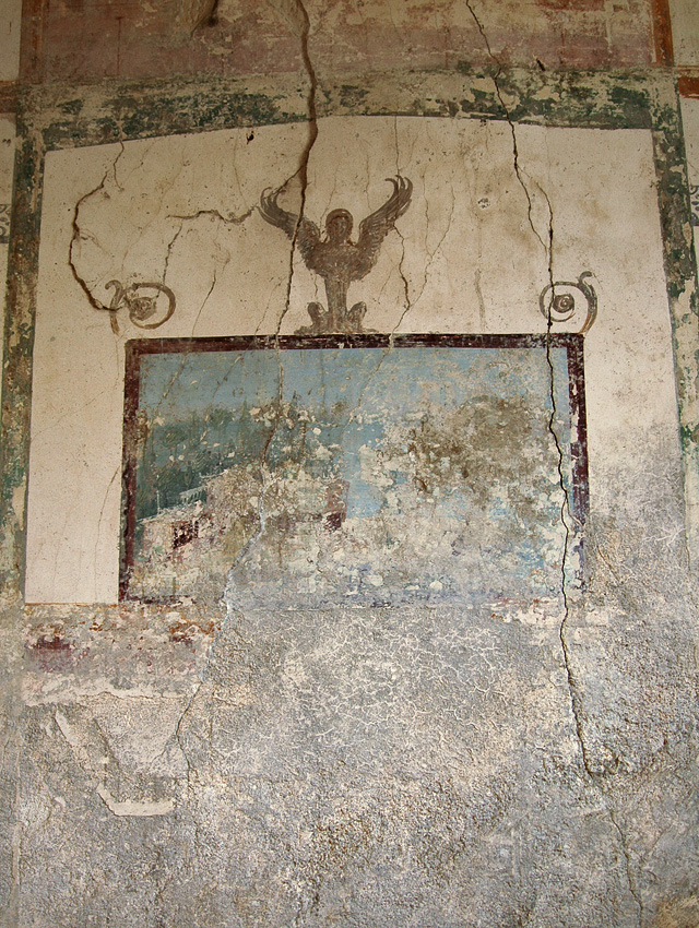 The wall painting. Mid-1st century CE. Castellammare di Stabia, Villa San Marco, cubiculum 57