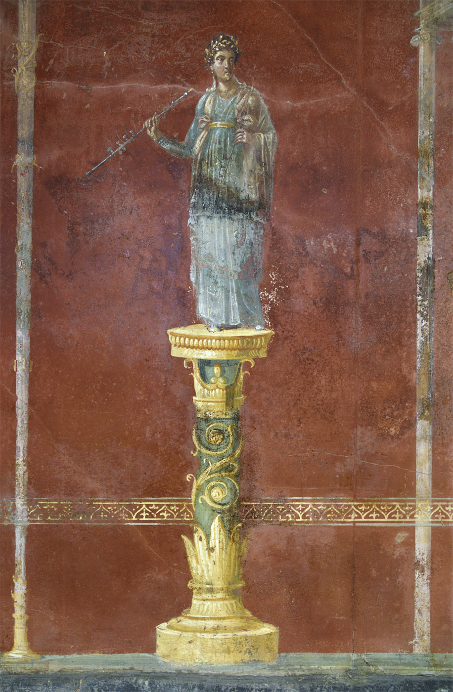 Euterpe. Neronian age. Pompeii, Great Gymnasium
