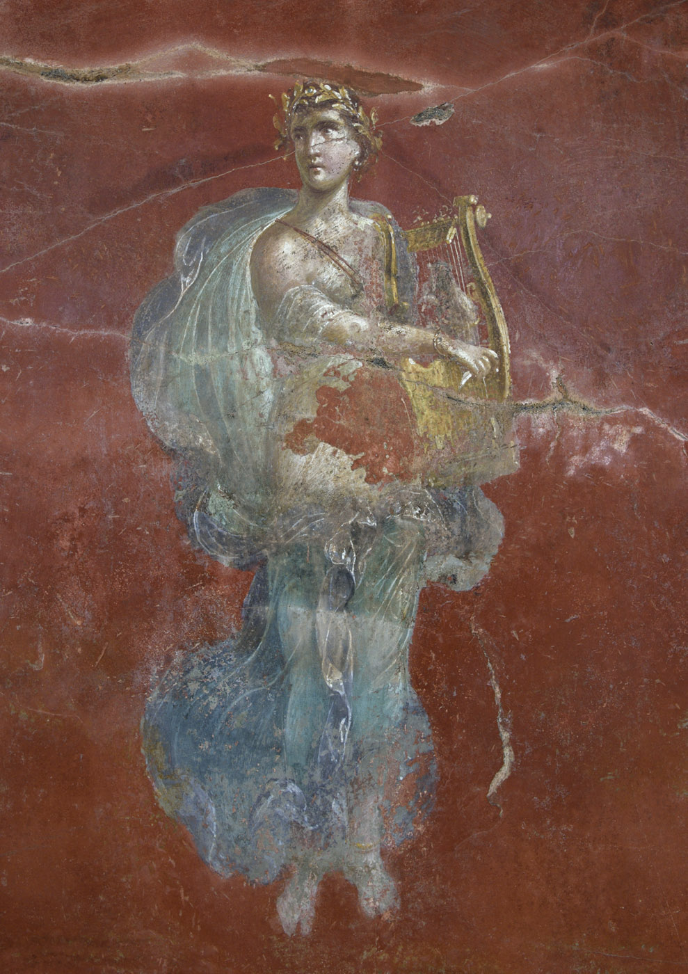 Apollo. Neronian age. Pompeii, Great Gymnasium