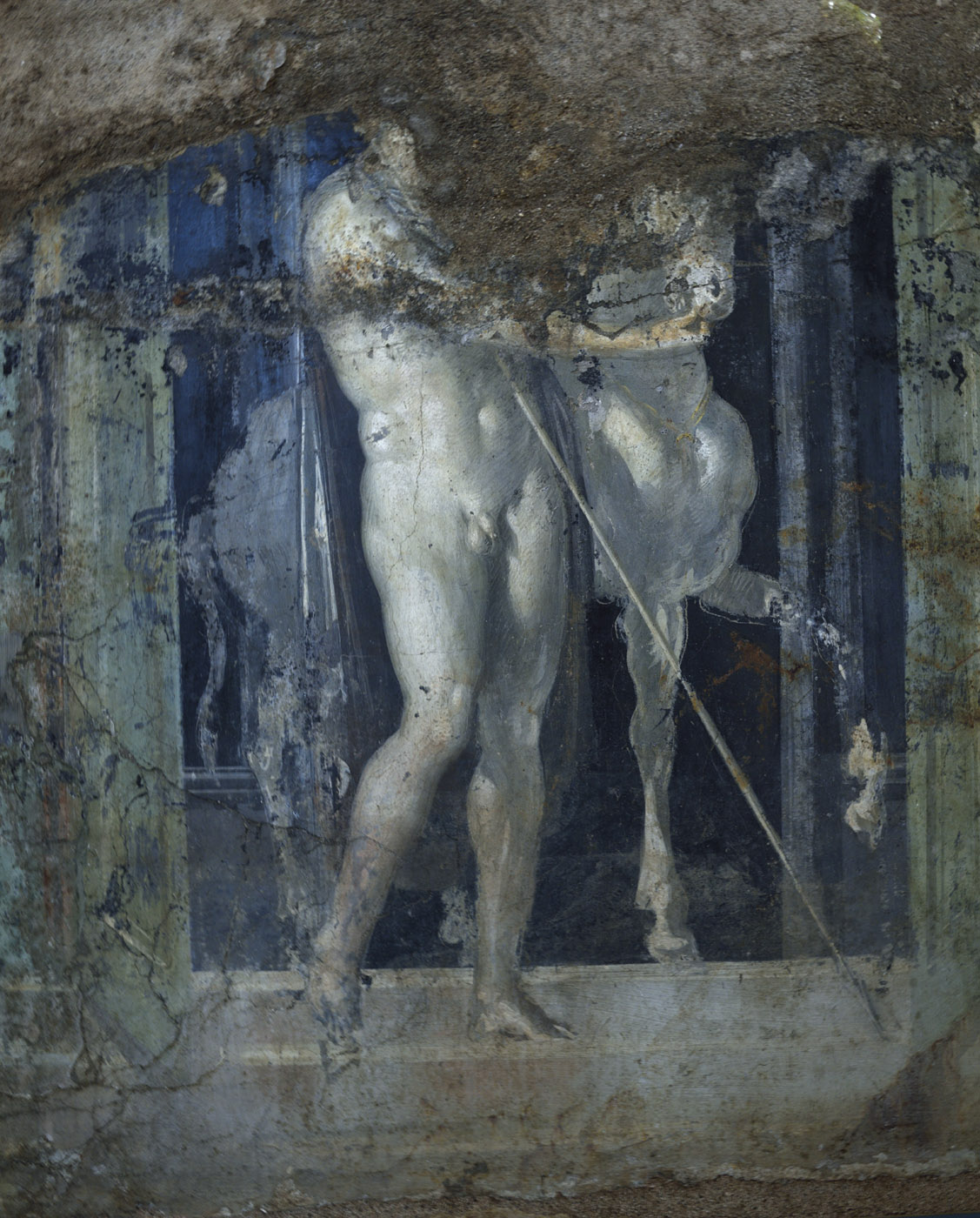 Castor or Pollux. Neronian age. Pompeii, Great Gymnasium