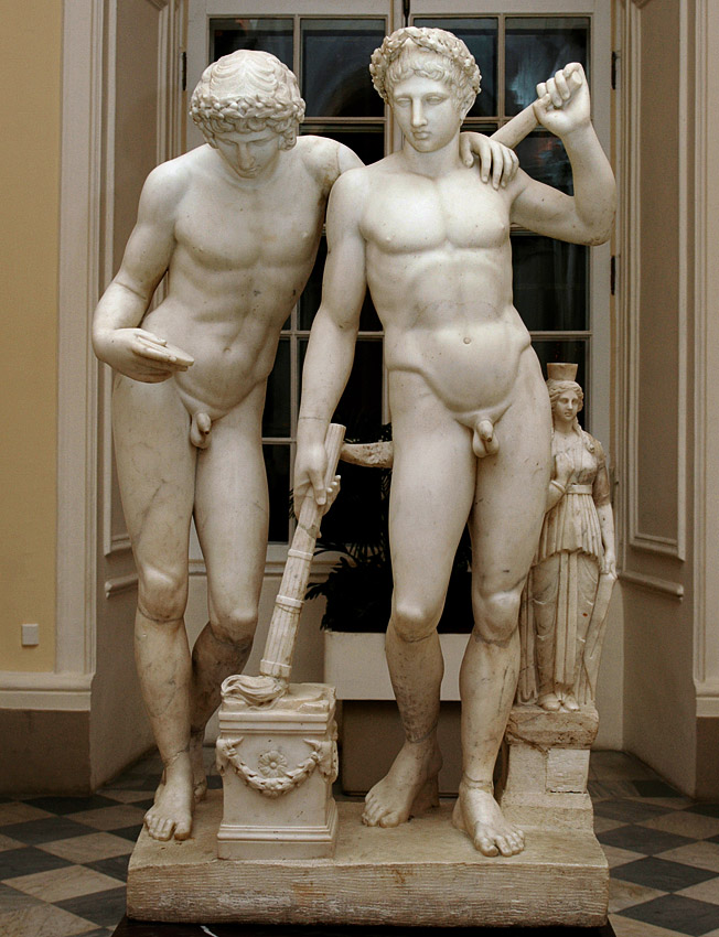 Castor and Pollux. Carlo Albacini (active 1769—1812). Marble. After the Antique. Saint Petersburg, The State Hermitage Museum