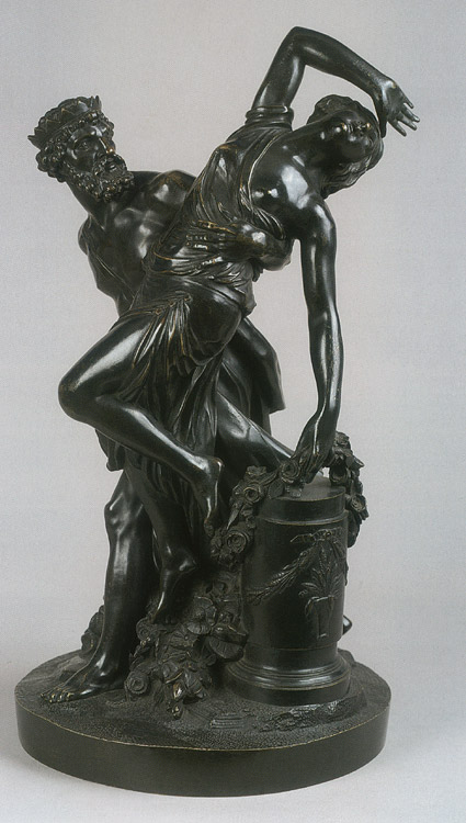 Pluto is abducting Proserpina. Simon Louis Boizot (1743—1809). Bronze. 1786. Height 48 cm. Inv. No. Н.ск. 2185. Saint Petersburg, The State Hermitage Museum