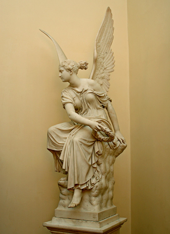 Victoria. Christian Rauch (1777—1857). Marble. Saint Petersburg, The State Hermitage Museum