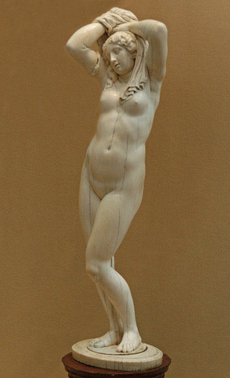 Figure of Venus. Flanders, the workshop of P.P. Rubens, about 1639. Ivory, porphyry. Saint Petersburg, The State Hermitage Museum