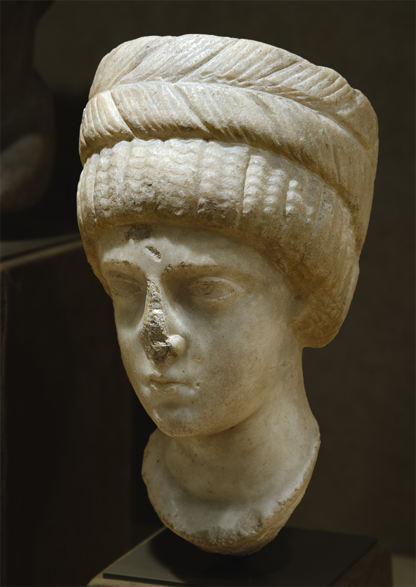 Aelia Flaccilla, wife of Theodosius I (presumably). Marble. Ca. 380-390 CE. Byzanthine. Inv. No. 47.100.51. New York, the Metropolitan Museum of Art