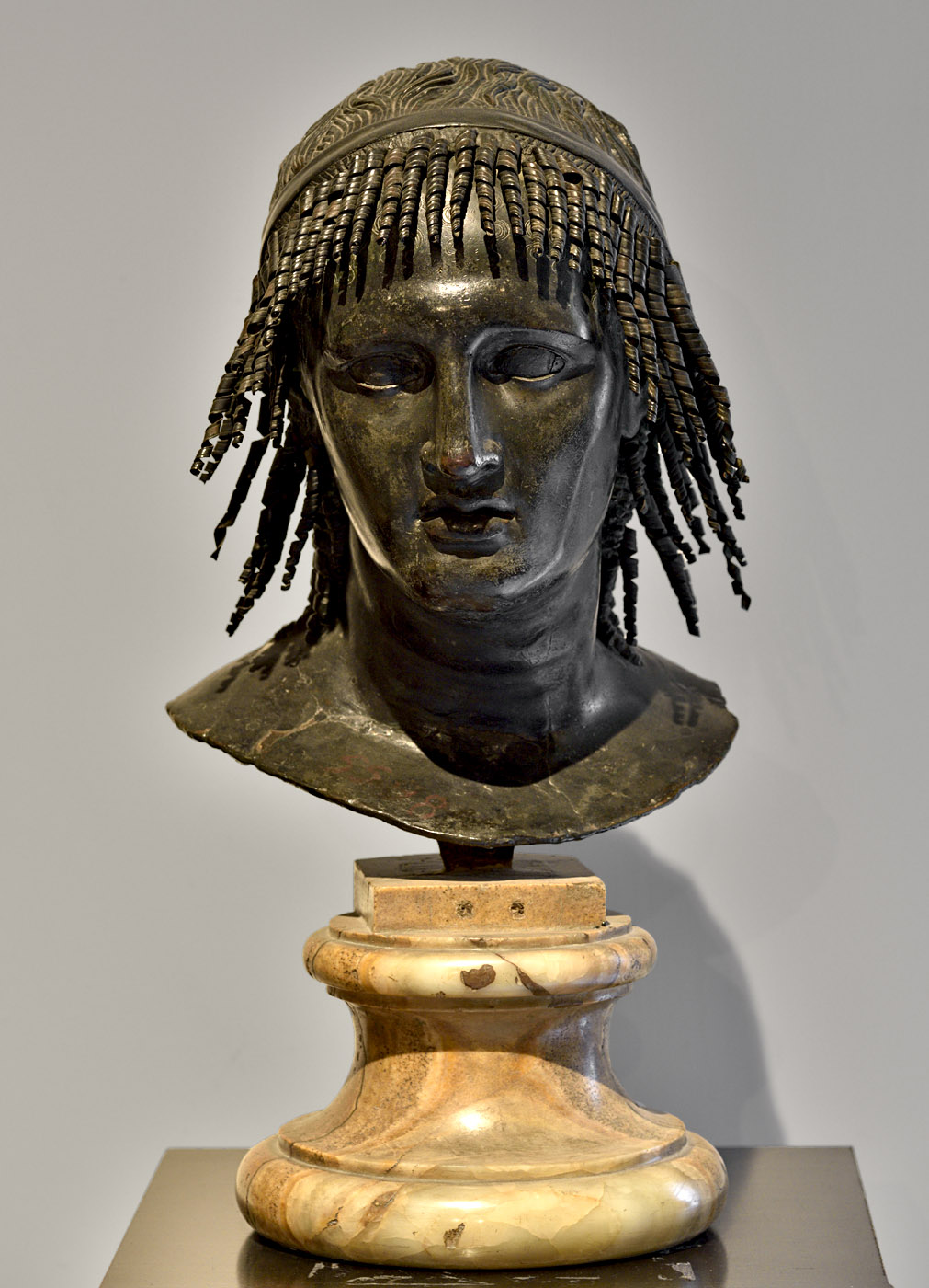 Ptolemy Apion. Bronze. 49 BCE — 25 CE.  Inv. No. 5598. Naples, National Archaeological Museum