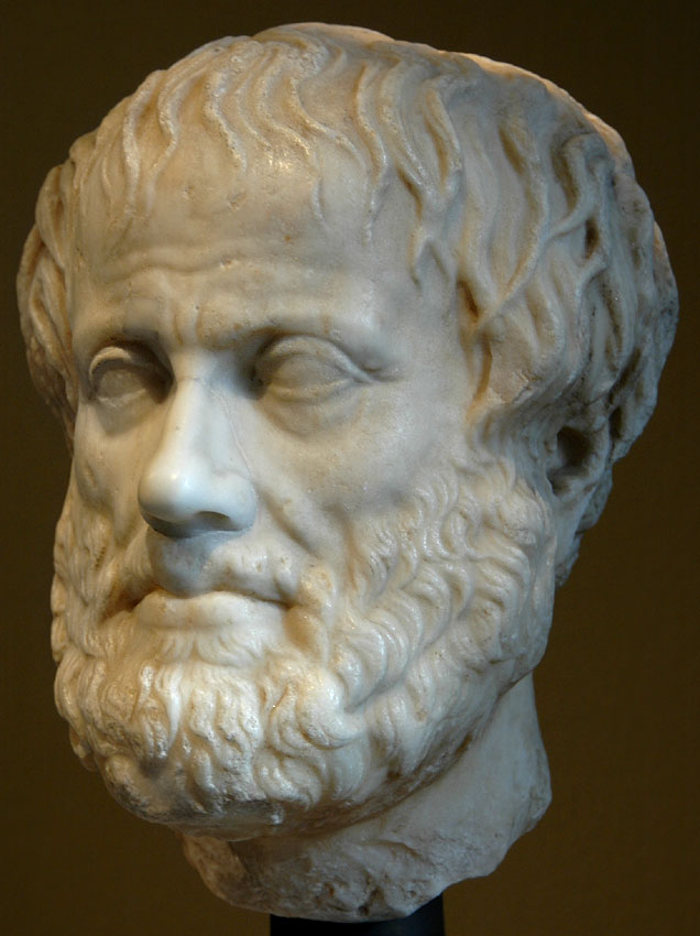 Head of Aristotle. Marble. Roman copy of the mid-1st century after a Greek original ca. 320 BCE. Inv. No. I 246. Vienna, Museum of Art History, Collection of Classical Antiquities