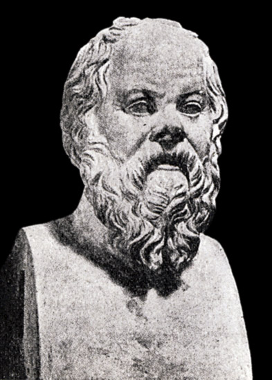 Herm of Socrates. Marble. Rome, Capitoline Museums, Palazzo Nuovo, Hall of the Philosophers