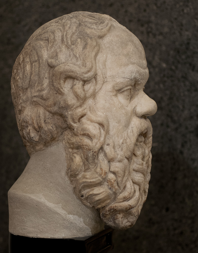Socrates. Saint Petersburg, The State Hermitage Museum