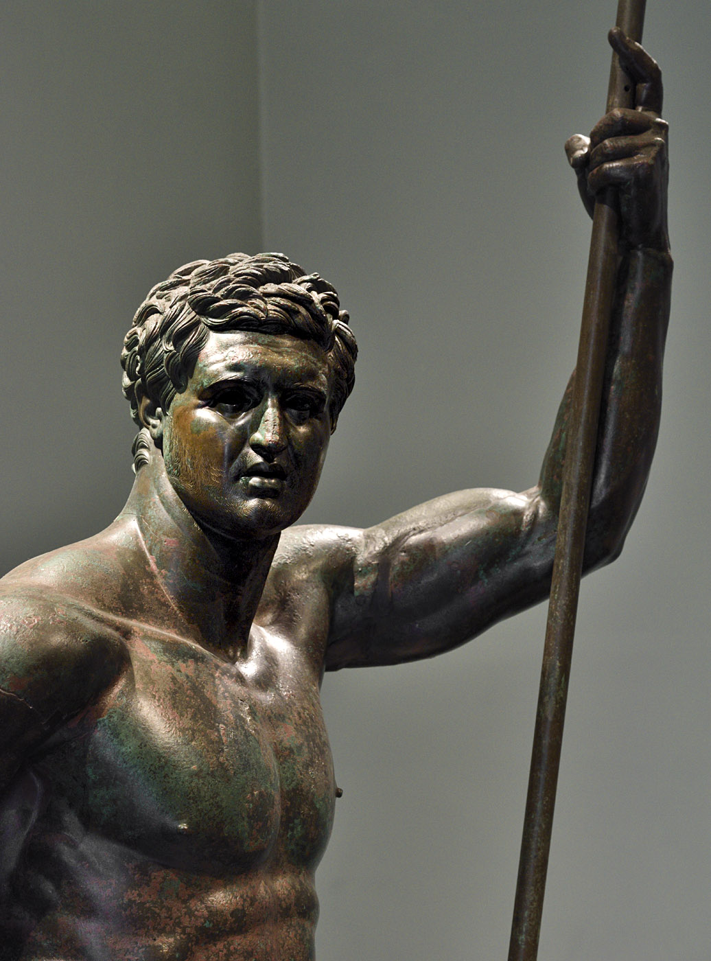 Hellenistic prince. Bronze. Mid-2nd cent. BCE. Inv. No. 1049. Rome, Roman National Museum, Palazzo Massimo alle Terme