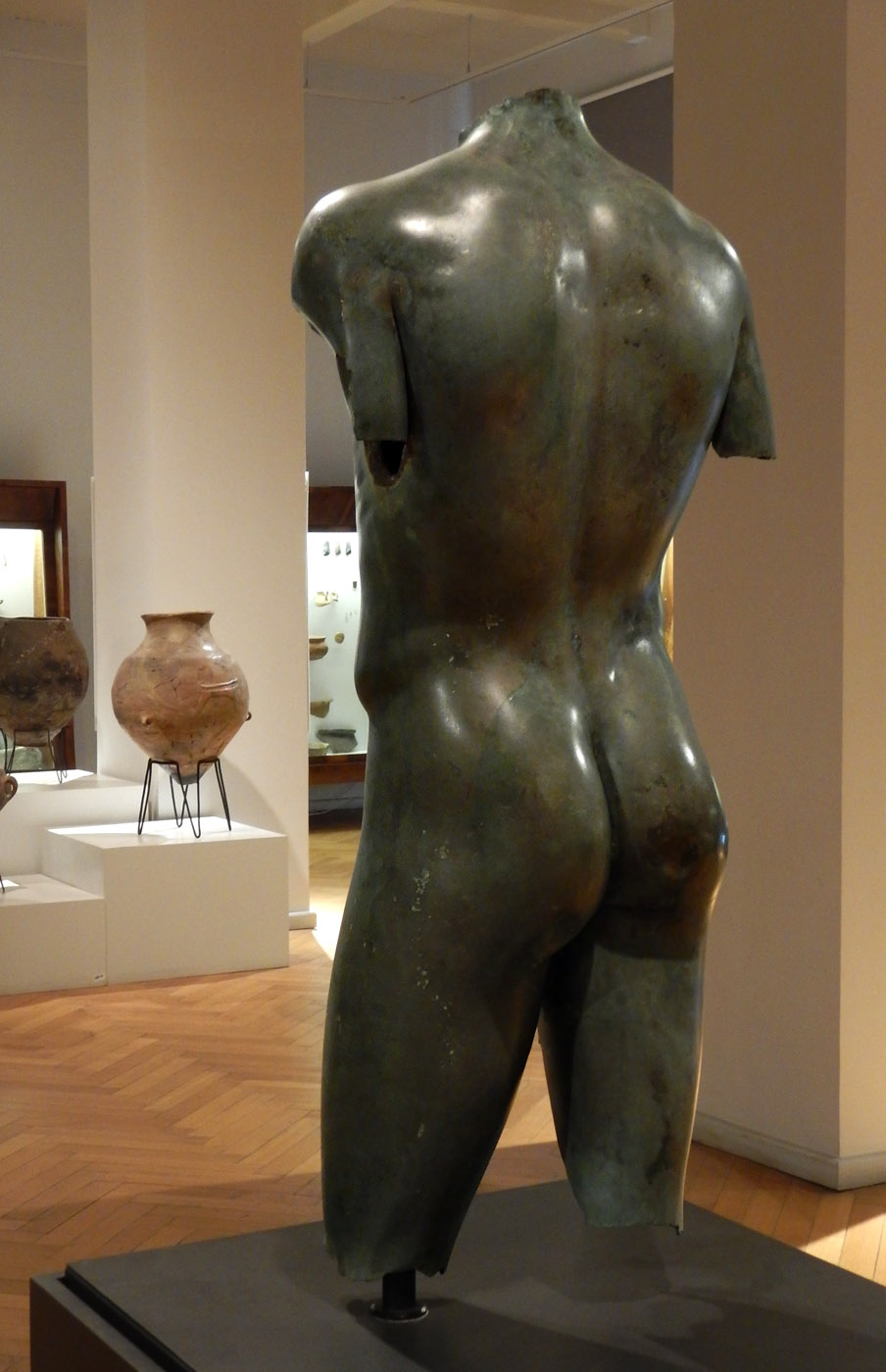 Torso of a youth. Bronze. 2nd—3rd cent. BCE. Tbilisi, Georgian National Museum