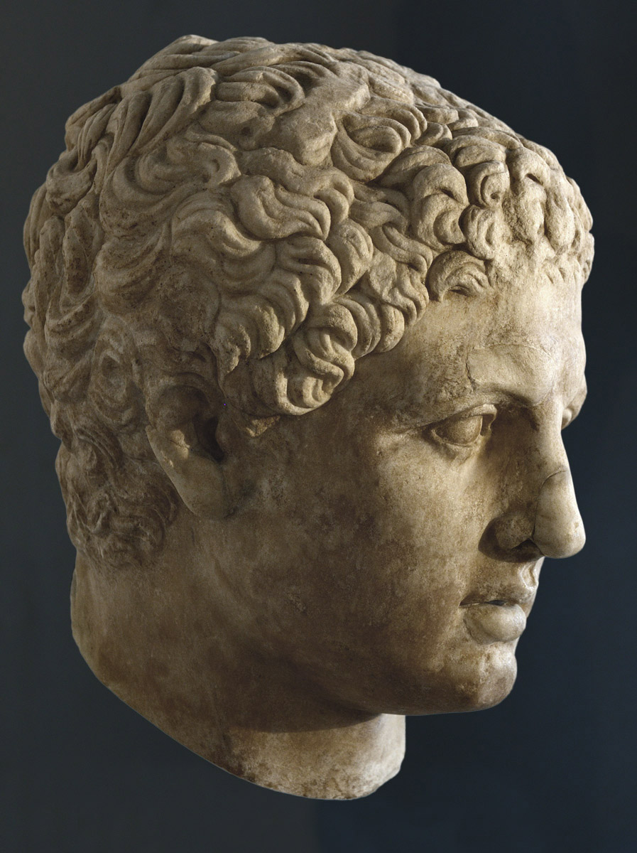 Head of an athlete. Marble. School of Lysippos. Beginning of the 3rd cent. BCE. Inv. No. 244. Venice, National Archaeological Museum